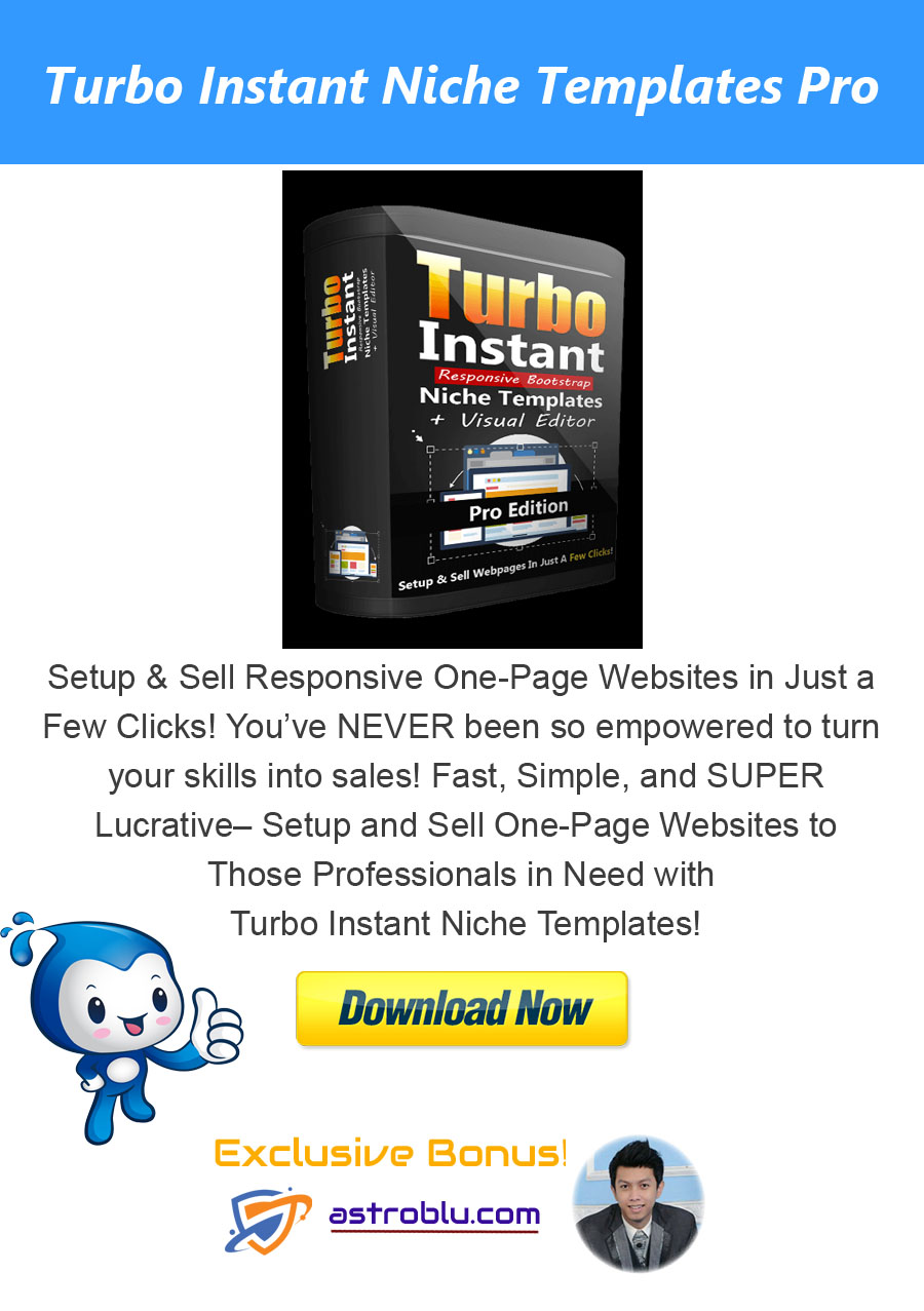Exclusive Bonus turbo-instant-niche-templates-pro